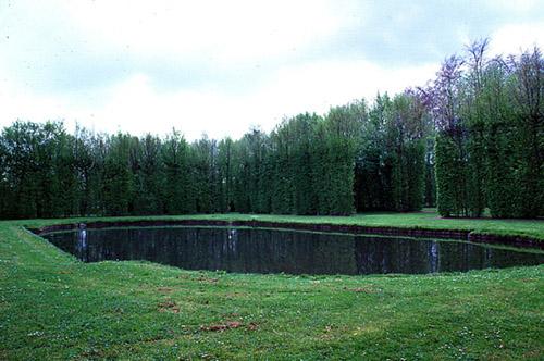 Les points d eau dans les jardins pass pr sent paysage et patrimoine sans fronti re - Point d eau dans le jardin ...